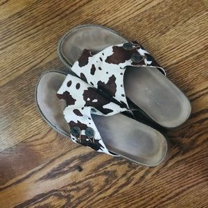 Kenneth Cole reaction COW sandals